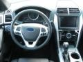 Charcoal Black Dashboard Photo for 2011 Ford Explorer #46644959