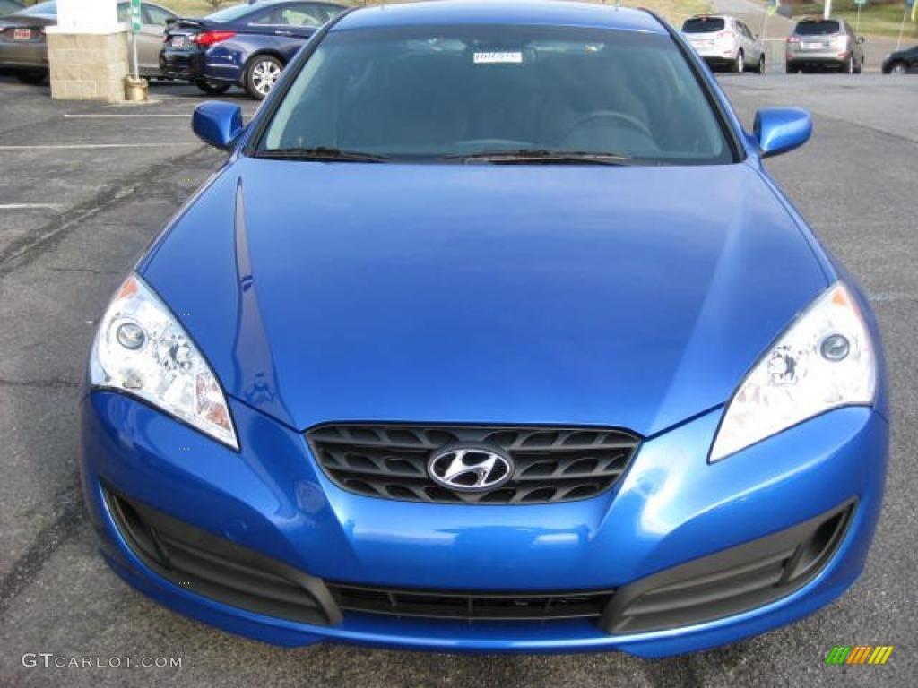 Mirabeau Blue 2011 Hyundai Genesis Coupe 2 0t Exterior