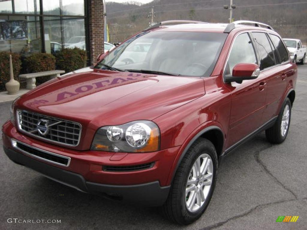 Flamenco Red Metallic 2011 Volvo Xc90 3 2 Awd Exterior