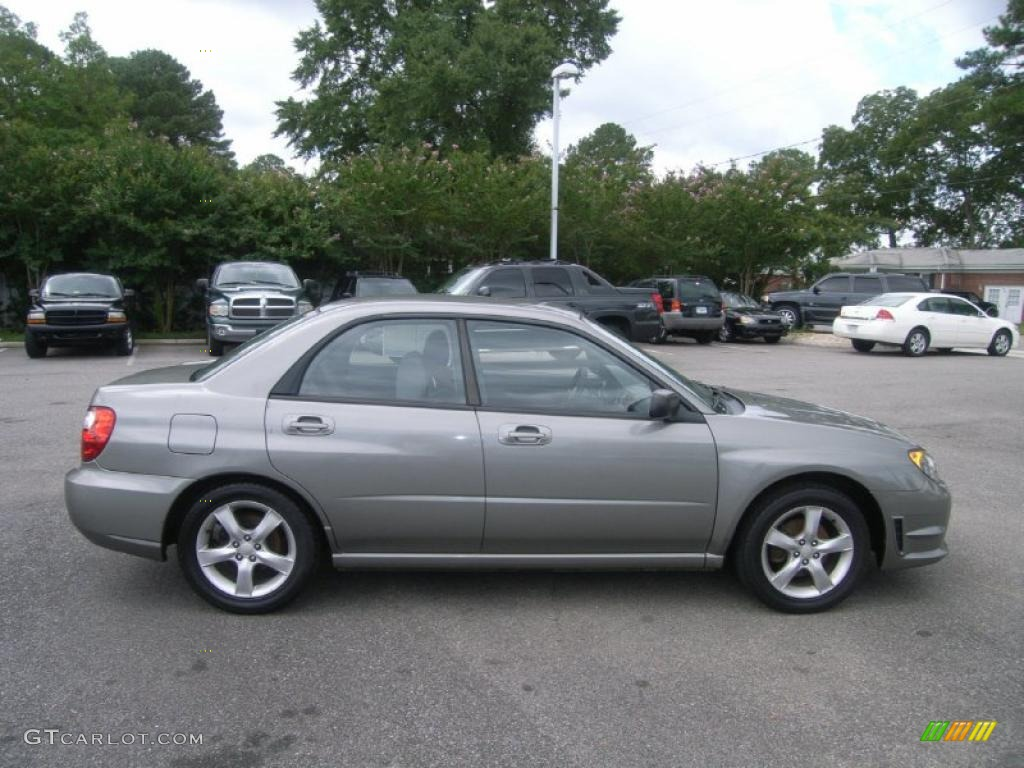 Steel Gray Metallic 2006 Subaru Impreza 2 5i Sedan Exterior Photo 46649588 Gtcarlot Com