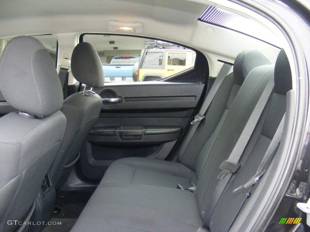 High Quality Dark Slate Gray Interior 2008 Dodge Charger SE Photo #46651352 Photo Gallery