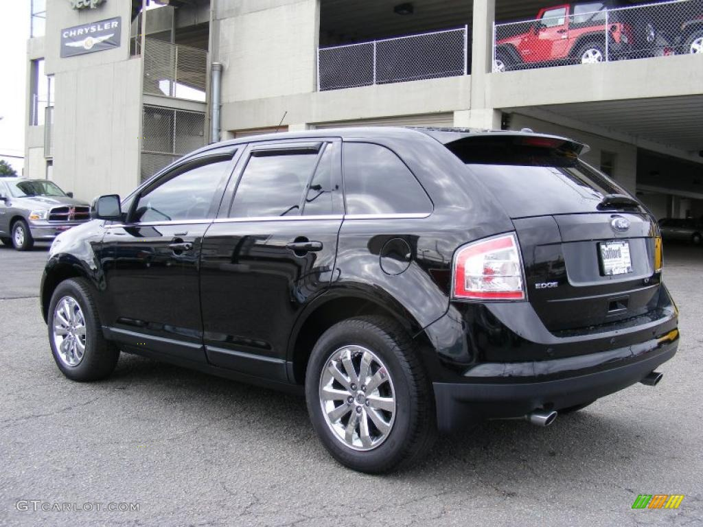 Black 2008 Ford Edge Limited Exterior Photo 46652078