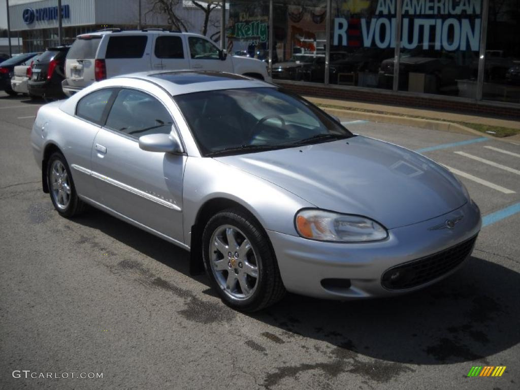 2001 Ice Silver Pearlcoat Chrysler Sebring Lxi Coupe