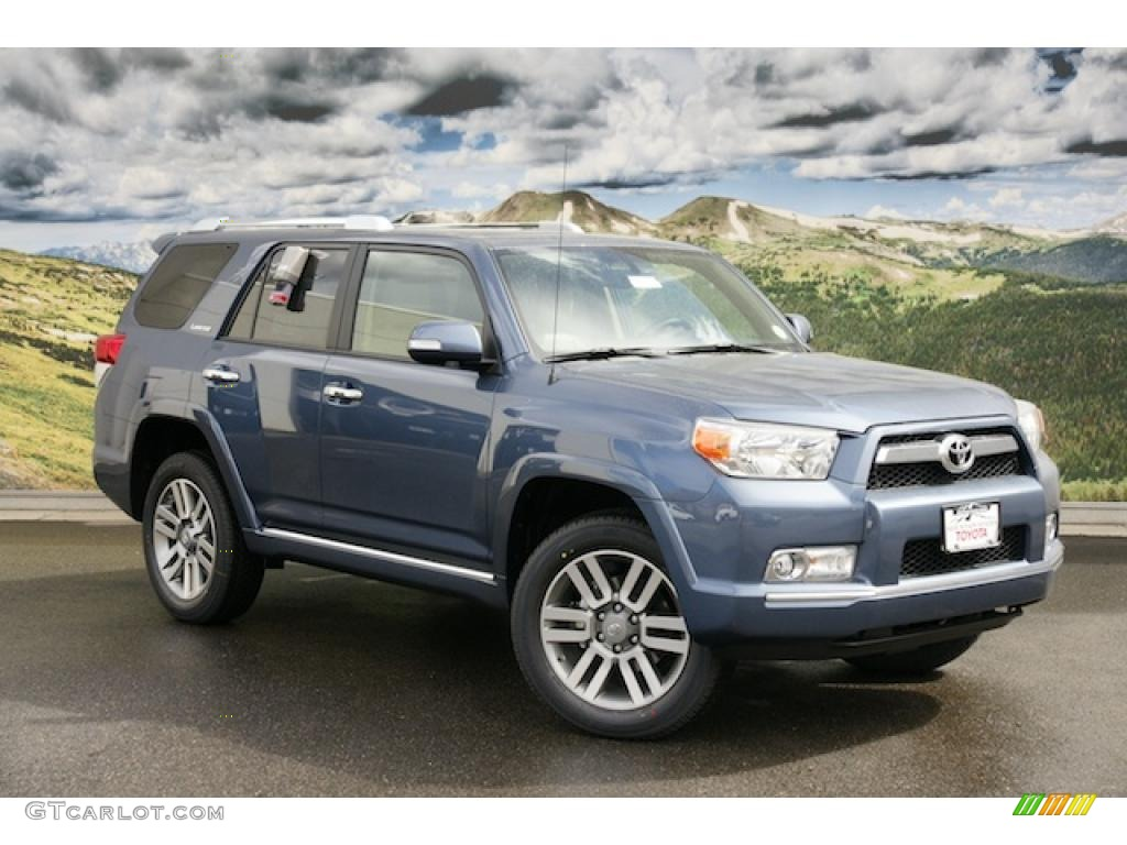 2011 shoreline blue pearl toyota 4runner limited 4x4 46653733 car color galleries. Black Bedroom Furniture Sets. Home Design Ideas