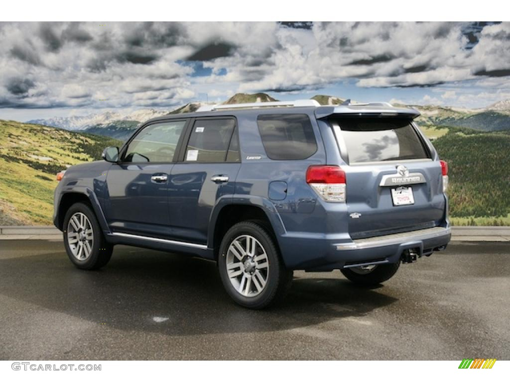 2011 shoreline blue pearl toyota 4runner limited 4x4 46653733 photo 3 car. Black Bedroom Furniture Sets. Home Design Ideas
