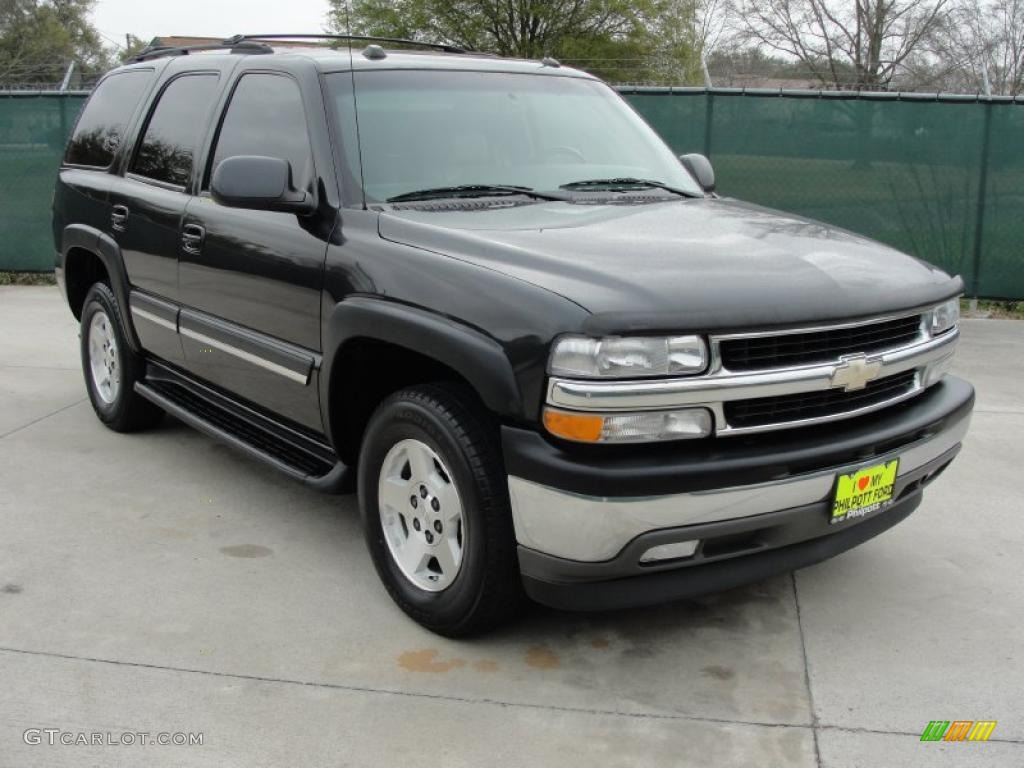 2005 Dark Gray Metallic Chevrolet Tahoe LS #46654033 | GTCarLot.com - Car Color Galleries