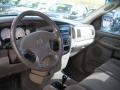 2002 Dodge Ram 1500 Taupe Interior Prime Interior Photo