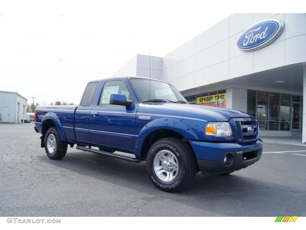 2011 vista blue metallic ford ranger sport supercab 46653928 car color galleries. Black Bedroom Furniture Sets. Home Design Ideas