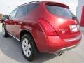 2007 Sunset Red Pearl Metallic Nissan Murano SL  photo #3