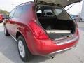 2007 Sunset Red Pearl Metallic Nissan Murano SL  photo #13