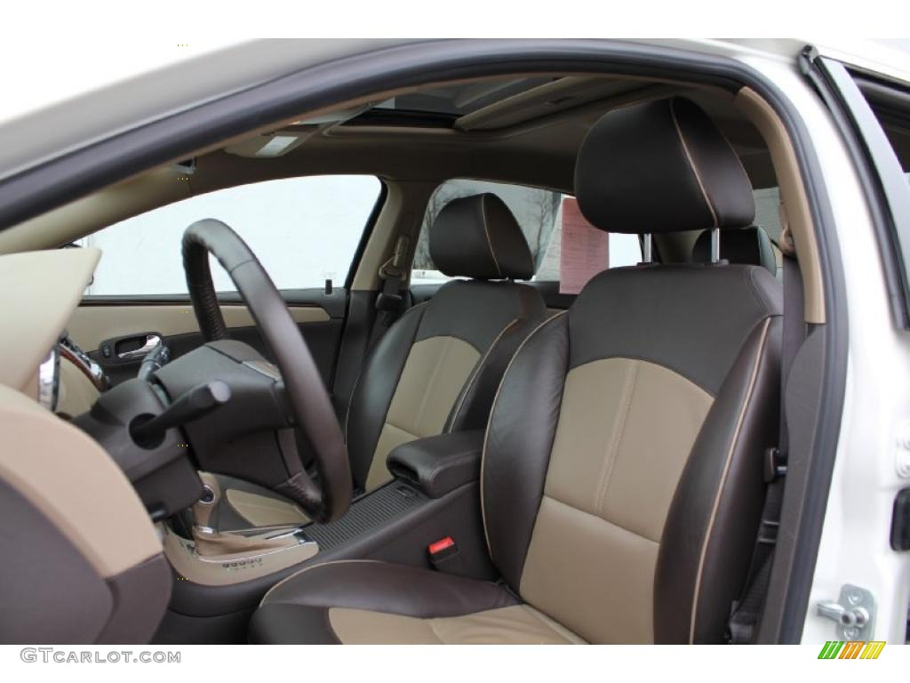 Cocoa/Cashmere Interior 2011 Chevrolet Malibu LTZ Photo #46688966