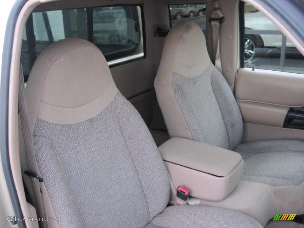 Medium Prairie Tan Interior 2000 Ford Ranger Xlt Supercab Photo 46689239