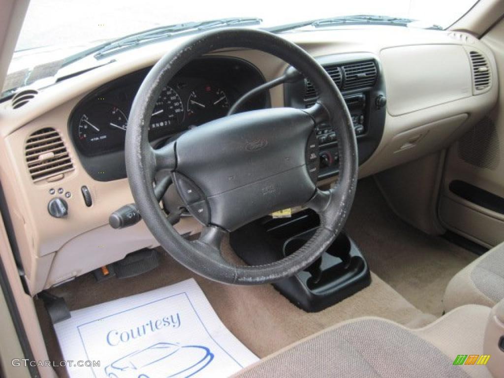 Medium Prairie Tan Interior 2000 Ford Ranger Xlt Supercab Photo 46689269