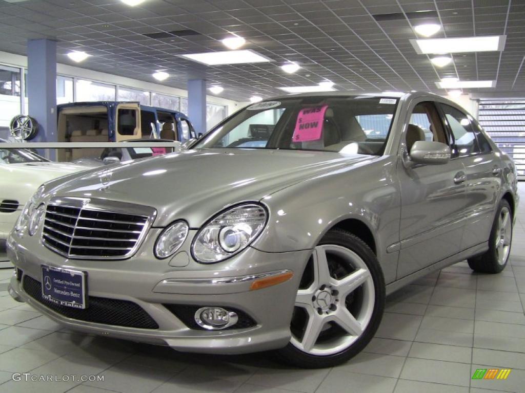 2009 pewter metallic mercedes benz e 350 4matic sedan for Mercedes benz 4matic sedan