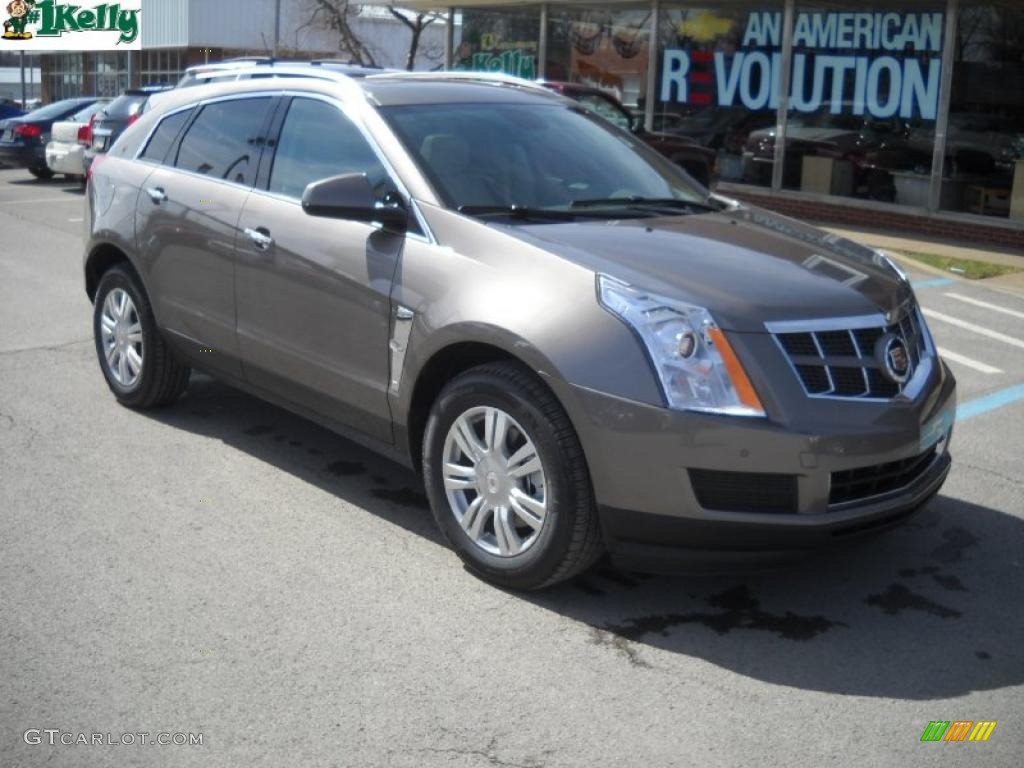 2011 Mocha Steel Metallic Cadillac Srx 4 V6 Awd 46654009 Car Color Galleries