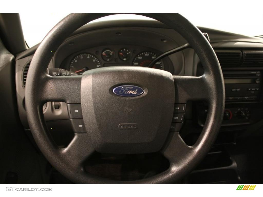 2008 ford ranger xl supercab medium dark flint steering. Black Bedroom Furniture Sets. Home Design Ideas