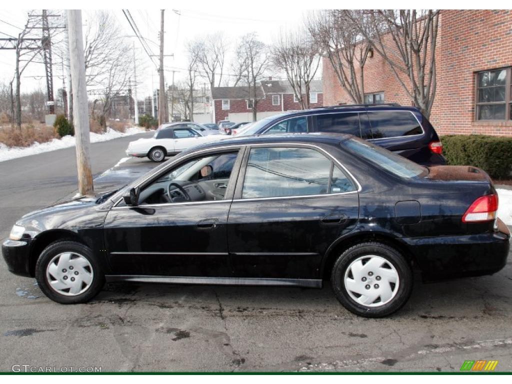 Nighthawk Black Pearl 2002 Honda Accord Lx V6 Sedan Exterior Photo 46703673 Gtcarlot Com