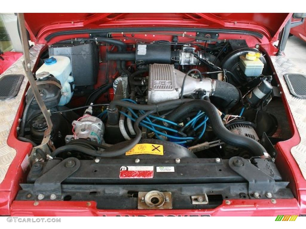 1995 Land Rover Defender 90 Hardtop 3 9 Liter Ohv 16 Valve