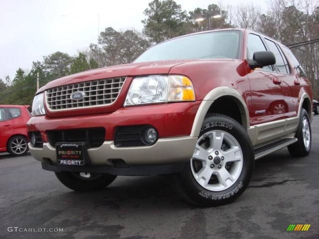 2005 redfire metallic ford explorer eddie bauer 4x4 4659926 car color galleries. Black Bedroom Furniture Sets. Home Design Ideas