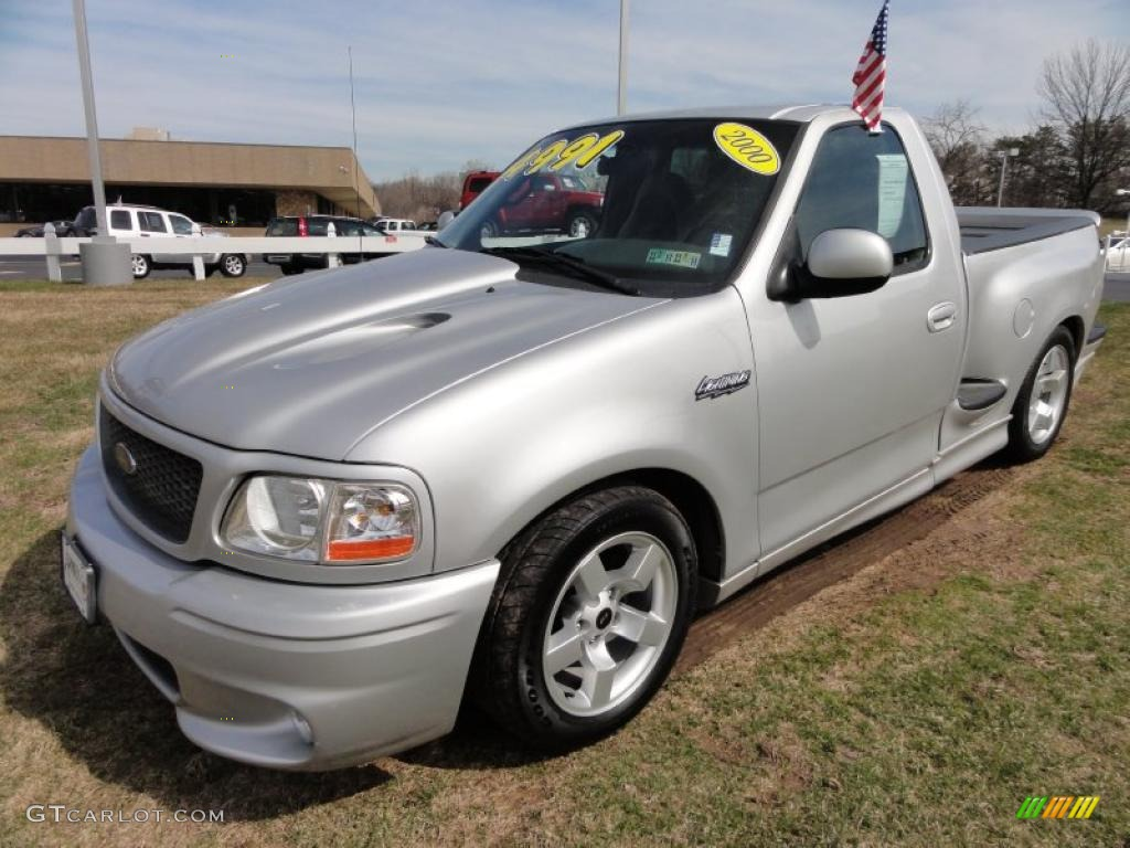 Ford Lightning Specs >> Silver Metallic 2000 Ford F150 SVT Lightning Exterior Photo #46716108 | GTCarLot.com