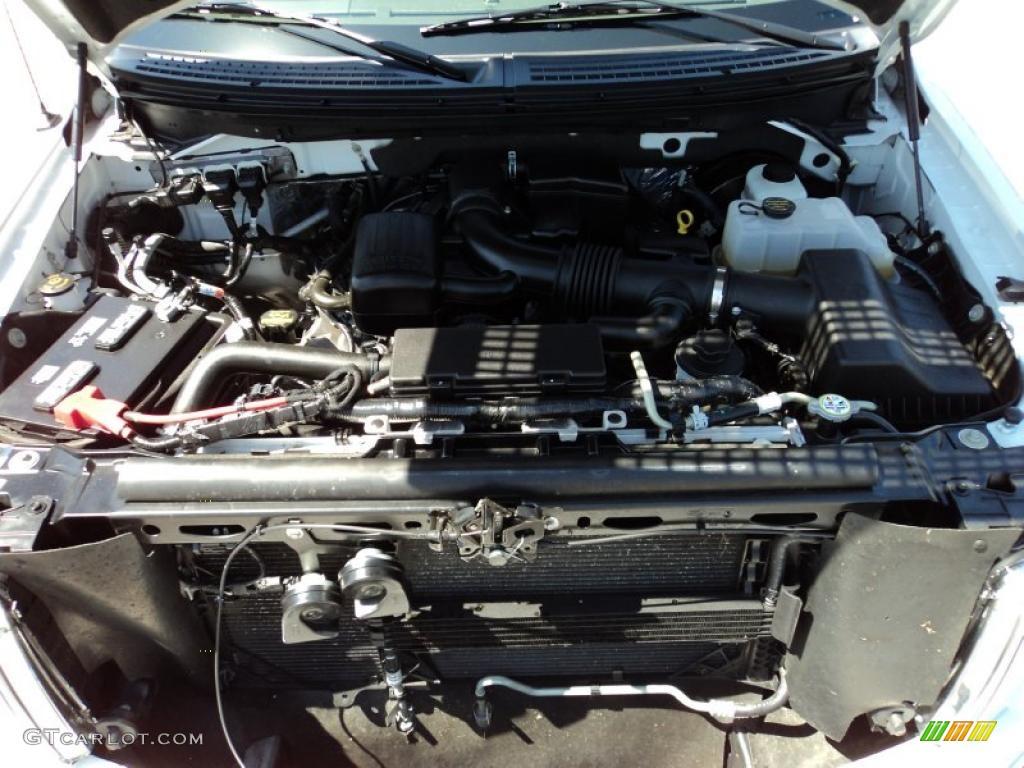 2010 ford f150 lariat supercab 5 4 liter flex fuel sohc 24 for Motor ford f150 v8