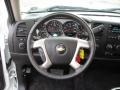 Ebony Steering Wheel Photo for 2011 Chevrolet Silverado 1500 #46717932