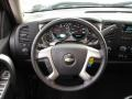 Ebony Steering Wheel Photo for 2011 Chevrolet Silverado 1500 #46718175