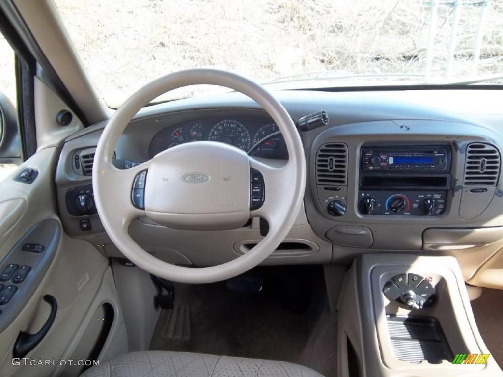 1997 Ford Expedition Xlt 4x4 Medium Prairie Tan Dashboard Photo 46718268