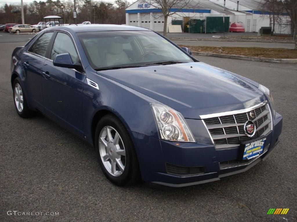 Blue Diamond Tri-Coat 2009 Cadillac CTS Sedan Exterior ...