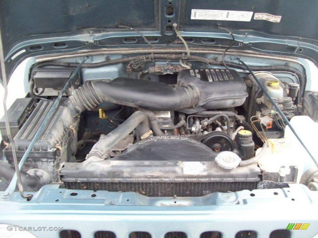 1998 jeep wrangler 2.5 engine