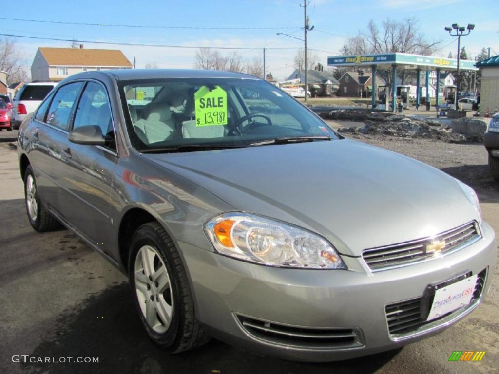 Dark Silver Metallic 2007 Chevrolet Impala Ls Exterior Photo 46721355