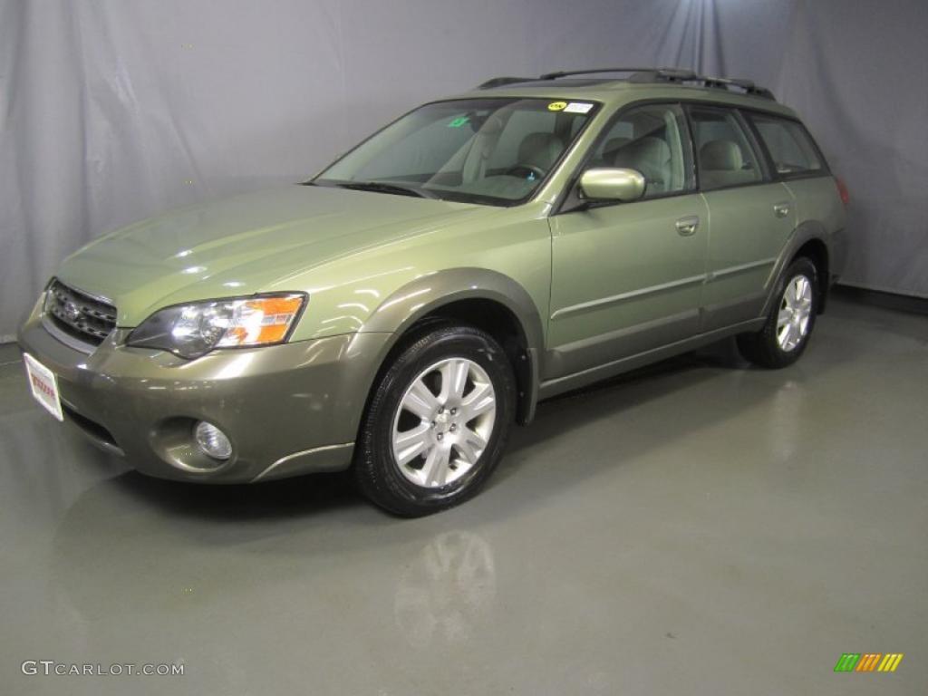 2005 Willow Green Opal Subaru Outback 2 5i Limited Wagon