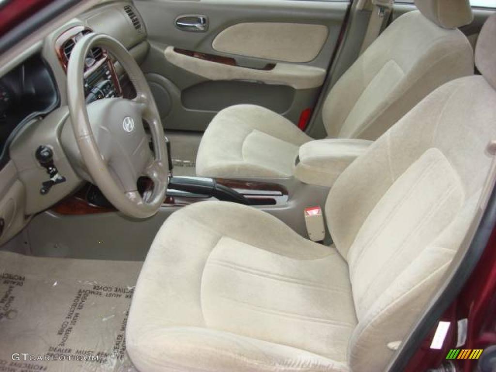 2005 ruby red hyundai sonata gls v6 4659925 photo 10 car color galleries. Black Bedroom Furniture Sets. Home Design Ideas