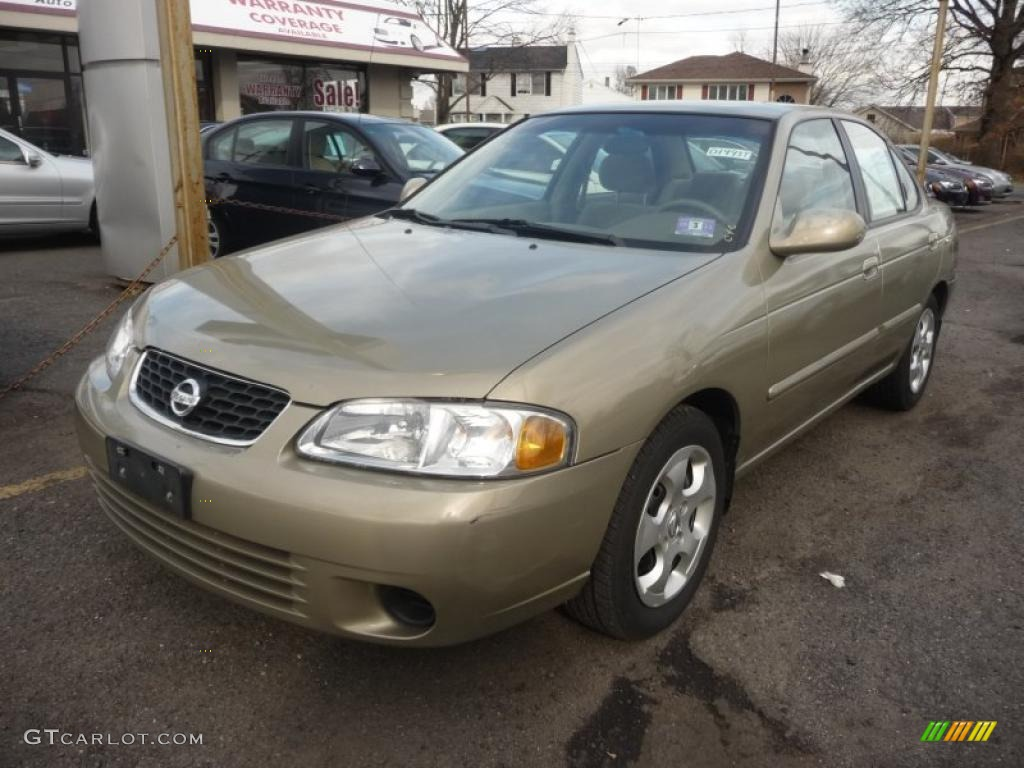 2003 iced cappuccino nissan sentra gxe 46697577. Black Bedroom Furniture Sets. Home Design Ideas