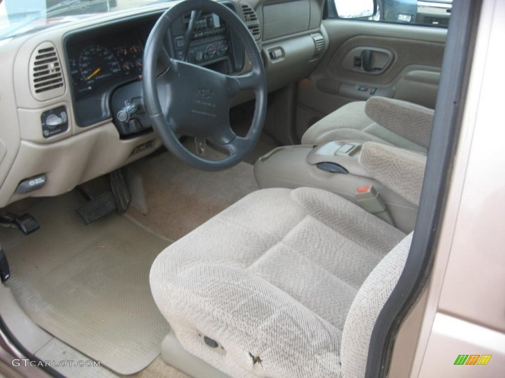 Neutral Shale Interior 1997 Chevrolet C K C1500 Silverado Extended Cab Photo 46731939
