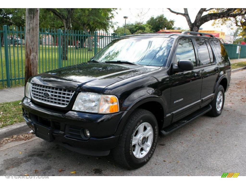 Black Clearcoat Ford Explorer Limited X Exterior Photo - 2002 explorer