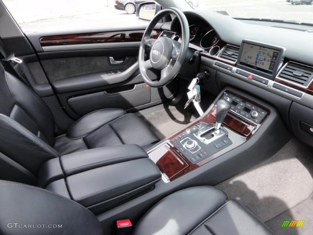 Black Interior 2005 Audi A8 L 4 2 Quattro Photo 46739746