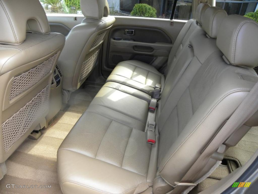 saddle interior 2008 honda pilot ex l photo 46741672