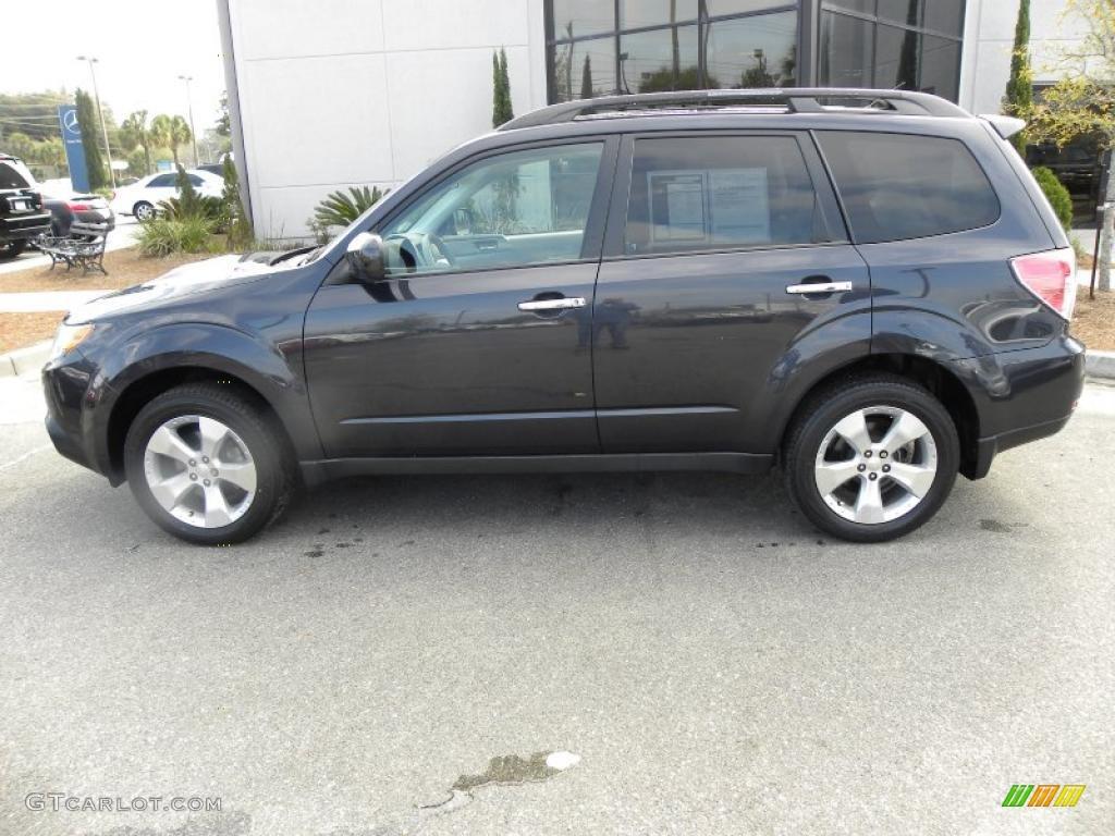 Dark Gray Metallic 2009 Subaru Forester 2 5 Xt Exterior Photo 46742224