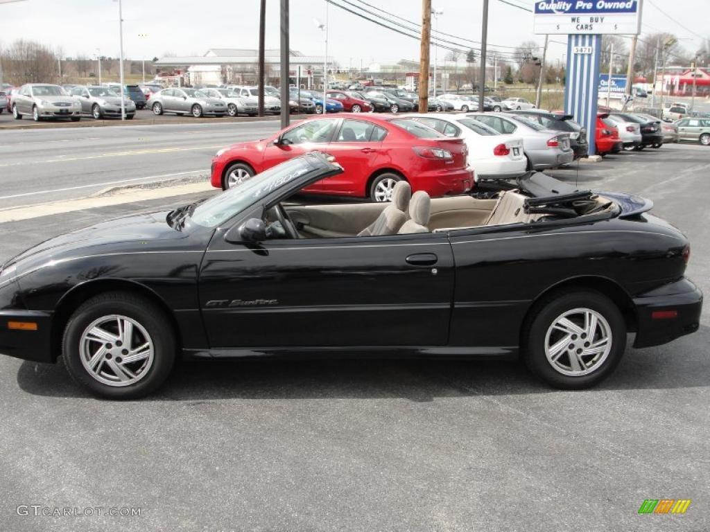 2000 Black Pontiac Sunfire Gt Convertible 46697947 Photo 5