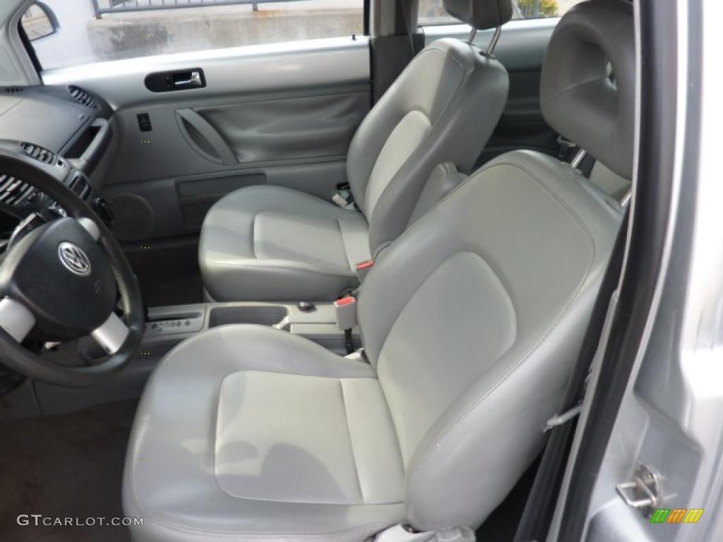 Grey Interior 2000 Volkswagen New Beetle Gls 1 8t Coupe Photo 46743556