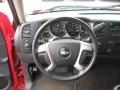 Ebony Steering Wheel Photo for 2008 Chevrolet Silverado 1500 #46743952