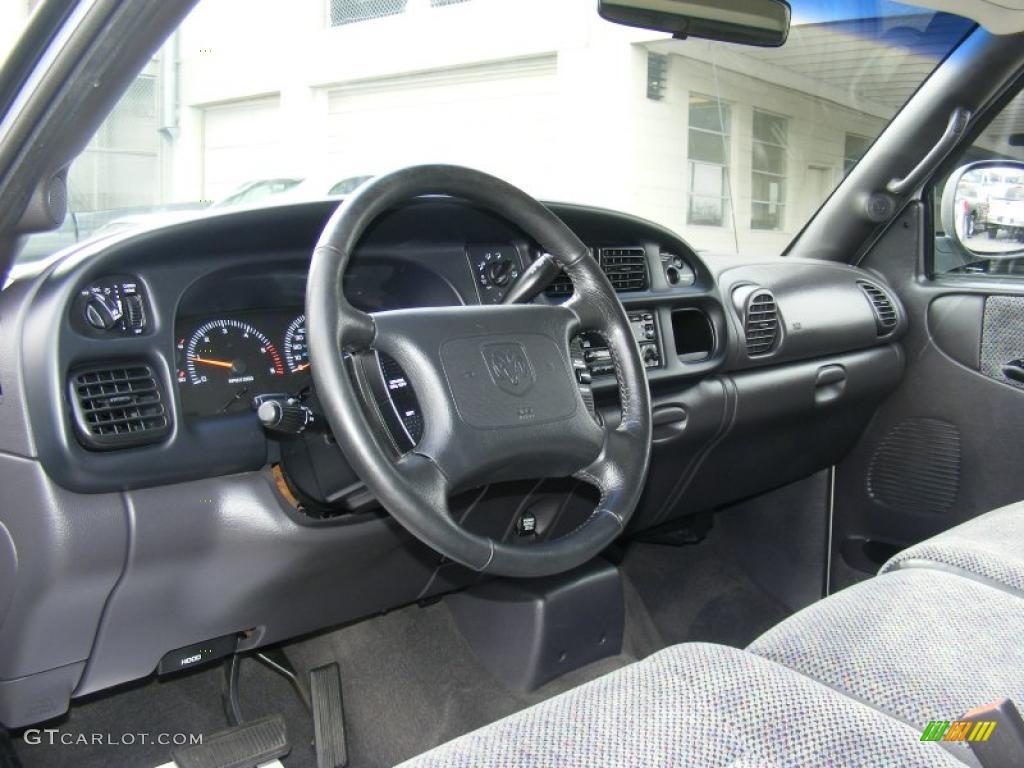 Agate Black Interior 1999 Dodge Ram 1500 Slt Regular Cab Photo 46745746