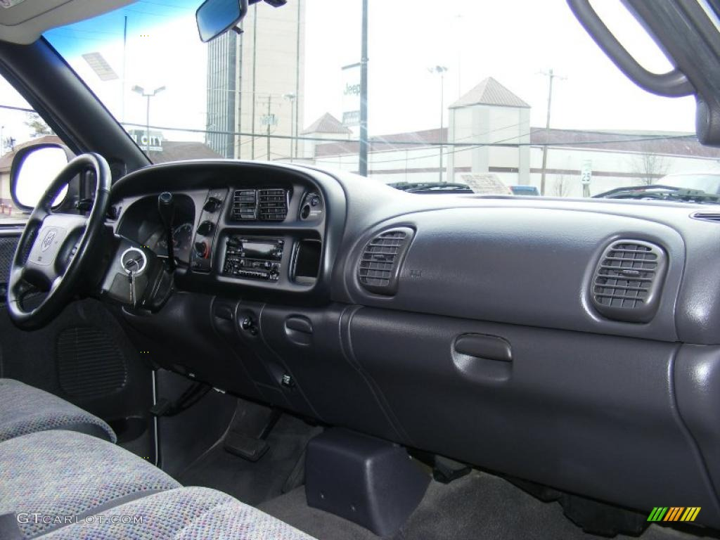 1999 Dodge Ram 1500 Slt Regular Cab Agate Black Dashboard Photo 46745764