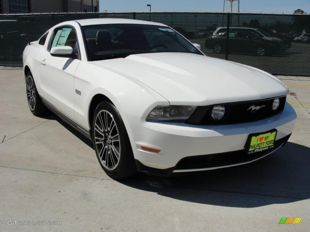 Performance White 2012 Ford Mustang Gt Premium Coupe