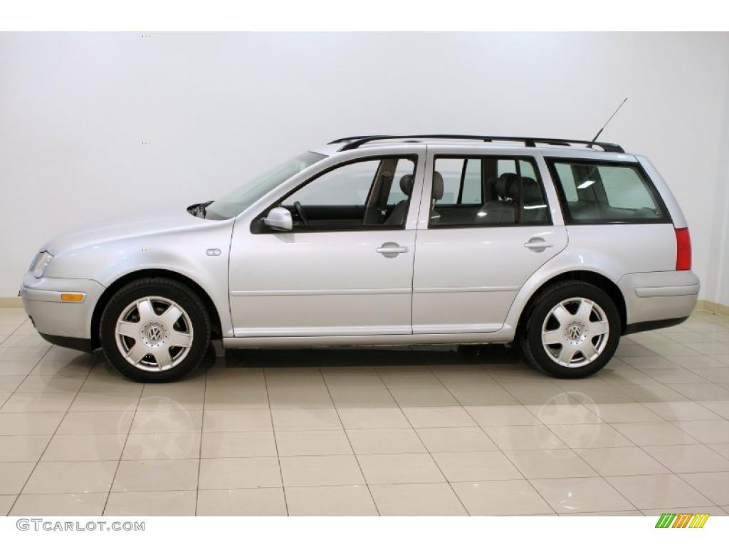 Reflex Silver Metallic 2002 Volkswagen Jetta Glx Vr6 Wagon Exterior Photo 46747358