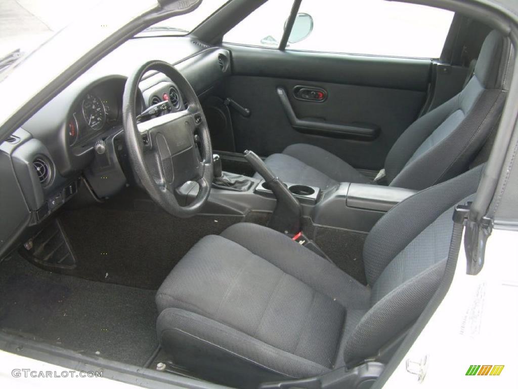 black interior 1991 mazda mx 5 miata roadster photo 46752330