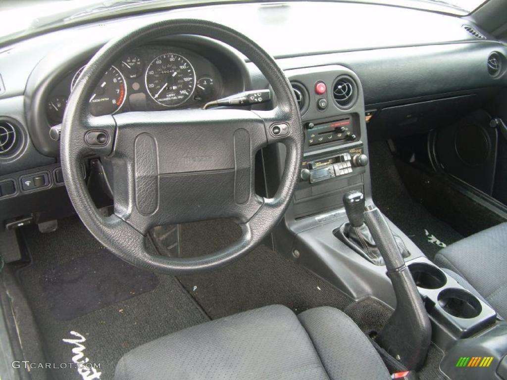 black interior 1991 mazda mx 5 miata roadster photo 46752345
