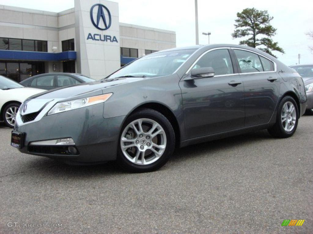 polished metal metallic 2009 acura tl 3 5 exterior photo. Black Bedroom Furniture Sets. Home Design Ideas