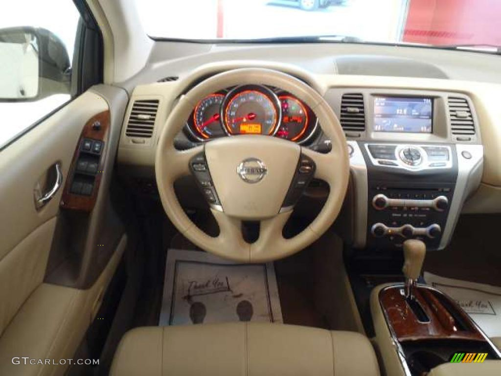 2009 Nissan Murano Le Awd Beige Dashboard Photo 46754523